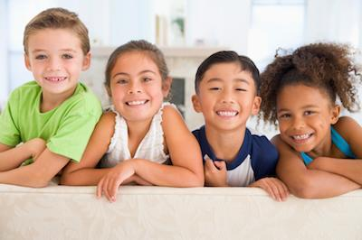 Group of Four Kids | Aurora IL Kid's Dentistry
